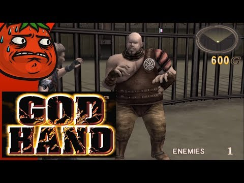 [Tomato] God Hand : The LEVEL DIE Gamer  Punching People In Half