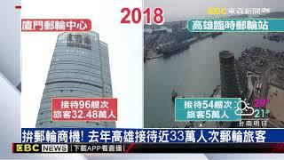韓到廈門郵輪中心取經 高雄「旅運中心」也將完工