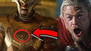¿Heimdall Oculta un Secreto en su Armadura-¿Ultima gema del infinito? Thor y Odin