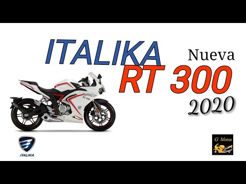 Nueva ITALIKA RT 300 2020 - G Motos 🏍️