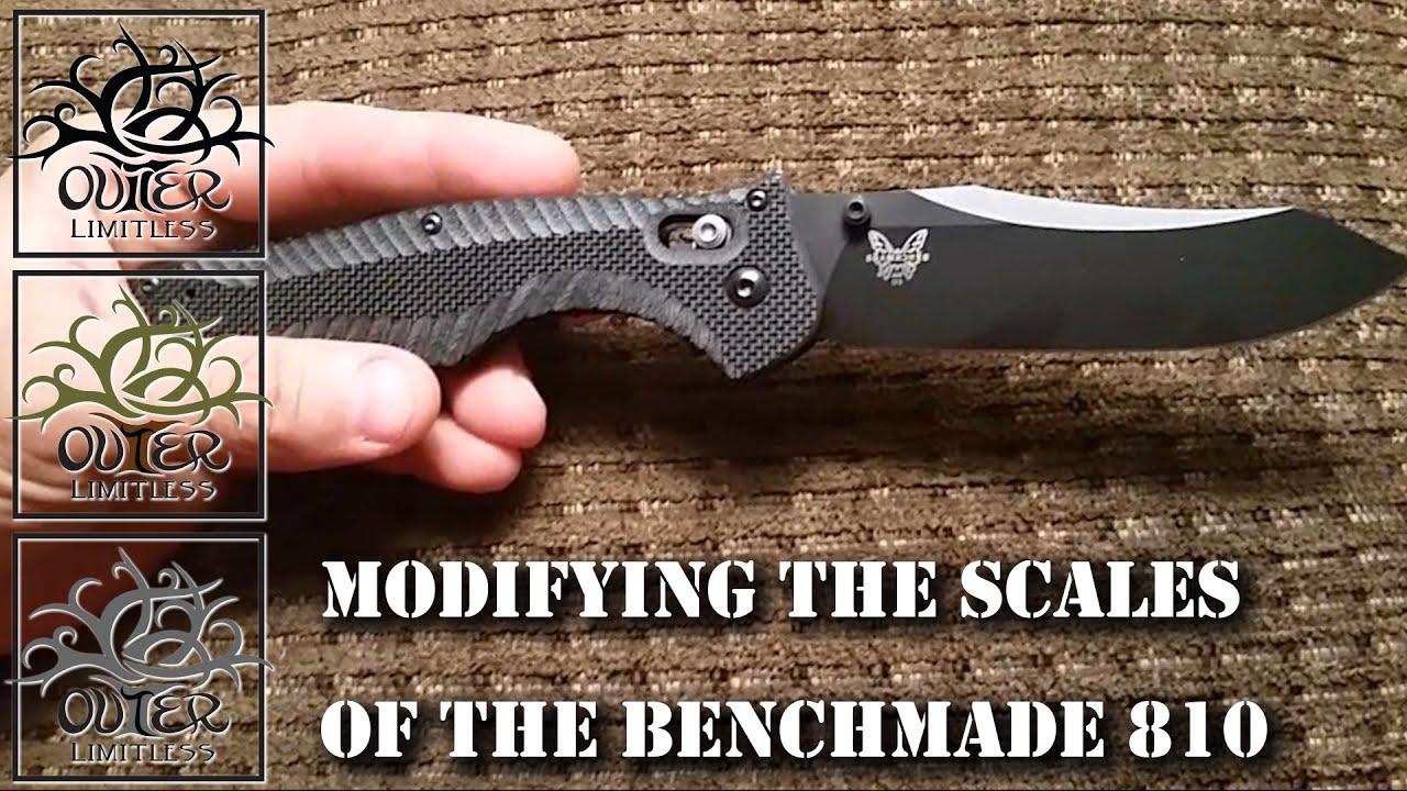Benchmade Adamas 275 Custom Scales