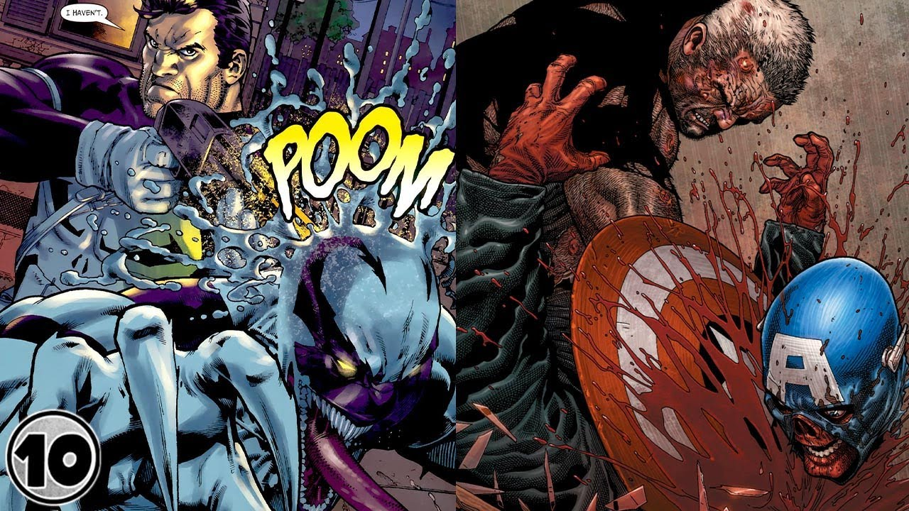 Top 10 Superheroes With The Highest Kill Counts