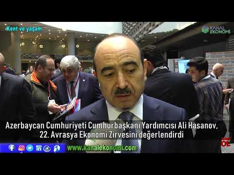Azerbaycan Cumhuriyeti Cumhurbaşkanı Yardımcısı Ali Hasanov, sorularımızı yanırladı...