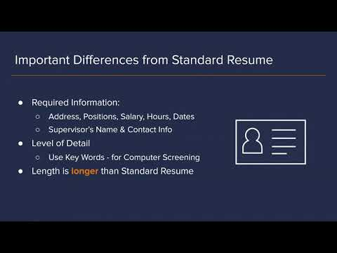 The Insiders Guide to the Federal Resume & USAJobs.gov