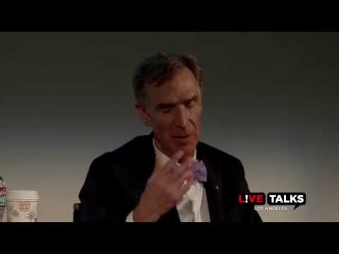 Bill Nye at Live Talks Los Angeles, in conversation with Emily Levine