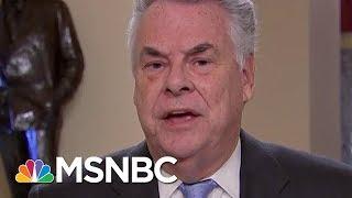 Congressman Peter King: GOP Should Shun Steve Bannon | MSNBC