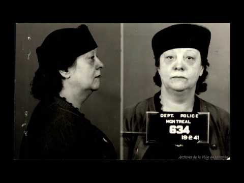 Mugshots of Montreal Prostitutes and Madams From the 1940s