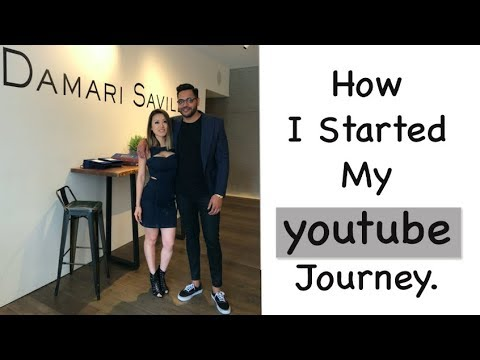 How I started my youtube Channel