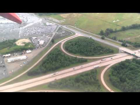 Landing at National Airport Little Rock (LIT)