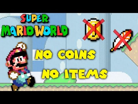 Super Mario World - Can You Beat the Game with No Coins and No Power Ups?
