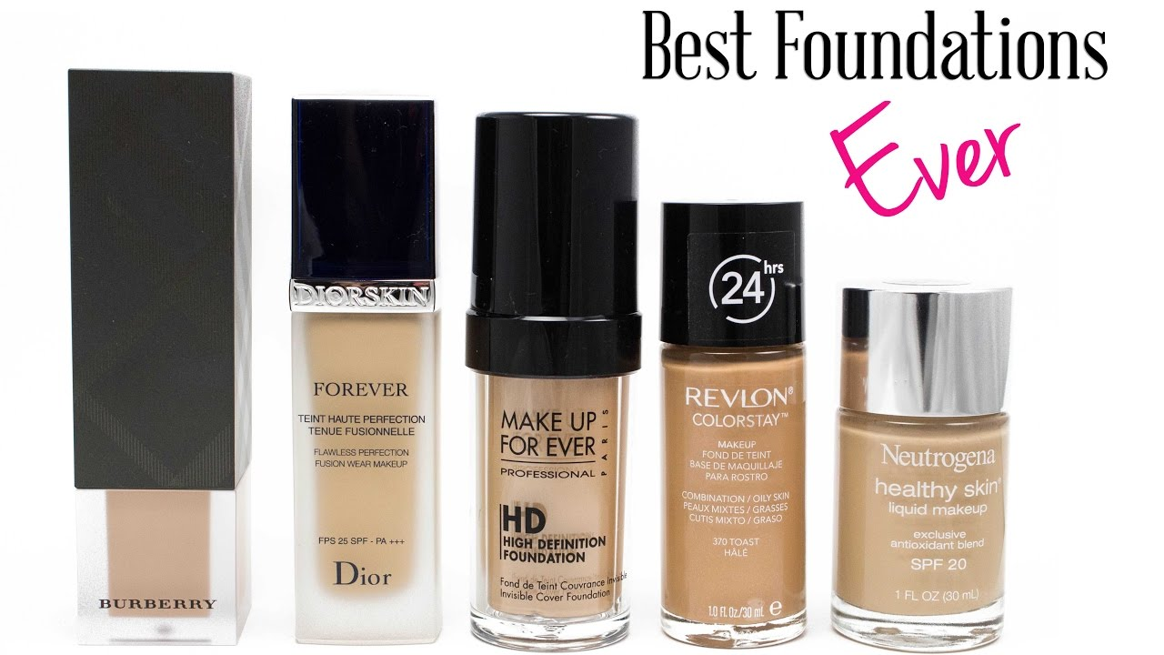 Top 10 best Foundation||Brand Foundation||Top 10 of 2017 ...