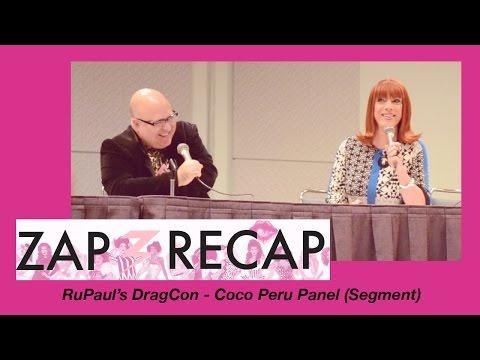 RuPaul's DragCon - Coco Peru Panel (Segment)