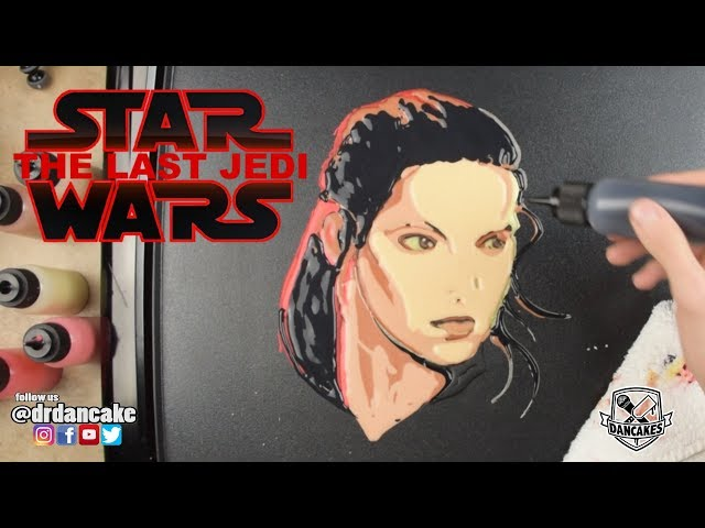 Rey (Star Wars: The Last Jedi) Pancake Art