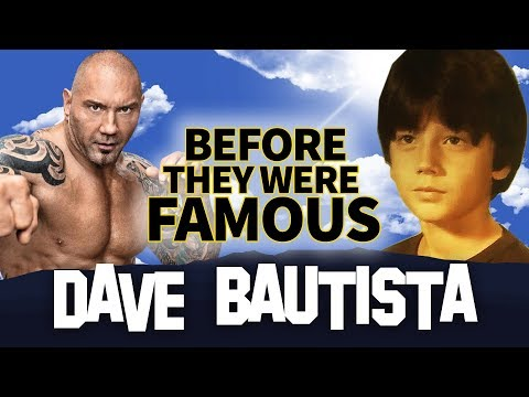 DAVE BAUTISTA  Before They Were Famous  Wrestler  Actor Biography