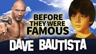DAVE BAUTISTA | Before They Were Famous | Wrestler / Actor Biography streaming