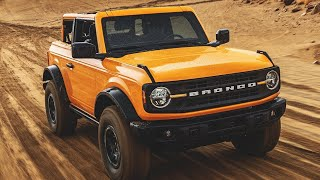 Early Look at the 2021 Ford Bronco | MotorTrend Exclusive