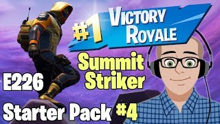 Summit Striker - Starter Pack #4 🔴 LIVE Friday Night Fortnite SUOMI 🐔 Battle Royale E226 🎱 & ENG