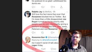People boycotting Joe Rogan, what does everyone think about the Roseanne show?