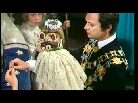 Royal Wedding Queen Silvia and King Carl Gustav of Sweden.
