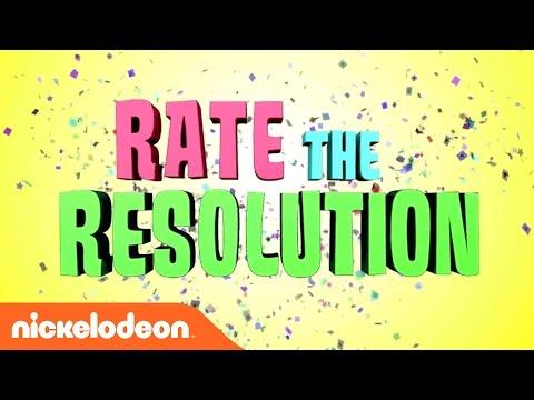 Play 'Rate the Resolution' w/ SpongeBob, TMNT, & Lana Loud | Nick