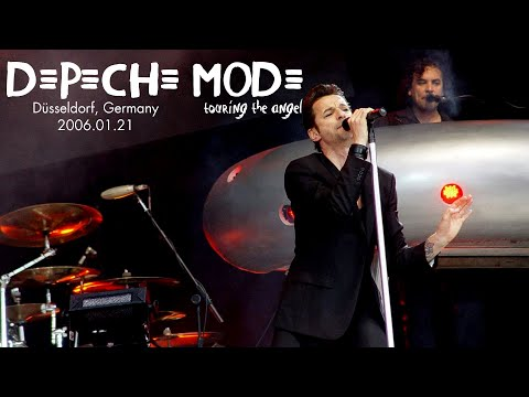 Depeche Mode live ► FULL CONCERT ► MULTICAM 2006 Düsseldorf ► SECOND NIGHT from YouTube · Duration:  1 hour 53 minutes 47 seconds