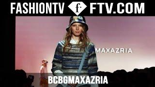 BCBGMAXAZRIA Spring/Summer 2016 Runway Show | New York Fashion Week NYFW | FTV.com