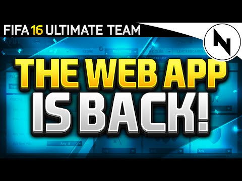 FIFA 16 WEB APP IS BACK! + Split Markets, FIFA Points & Price Ranges!