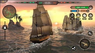 King Of Sails Royal Navy [High Graphic Warship Game] Android Gameplay