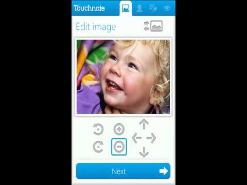 Touchnote - Android app demonstration
