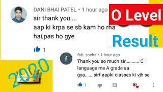 O Level January 2020 Result Passed Students Review | January 2020 O Level Result What's Student Say