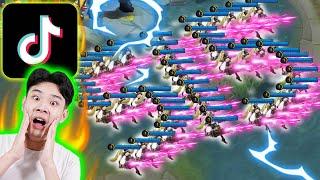 Keren Banget!! Konten Mobile Legends Yang Viral Di TikTok
