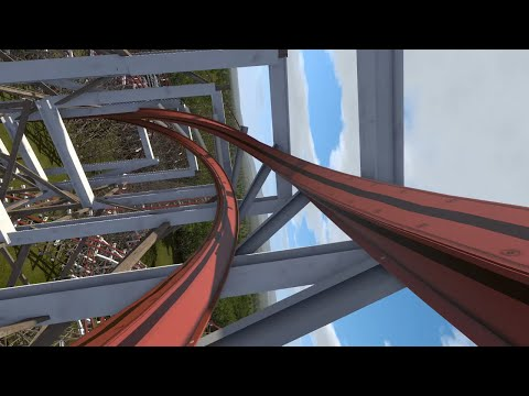 Twisted Tigers (Gwazi RMC) 2020 Busch Gardens Tampa POV, Concept Animation