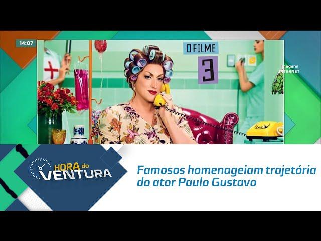 Famosos homenageiam a trajetória do ator Paulo Gustavo nas redes sociais