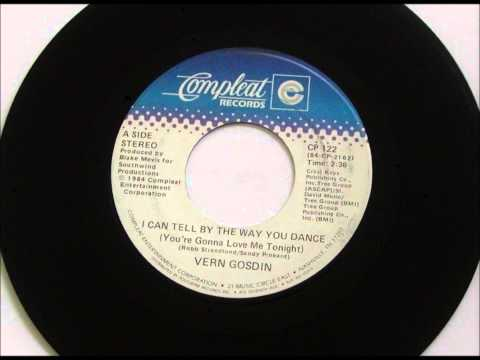 I Can Tell By The Way You Dance , Vern Gosdin , 1984 Vinyl 45RPM