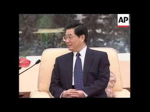 Chinese president meets Chief Executive of Hong Kong