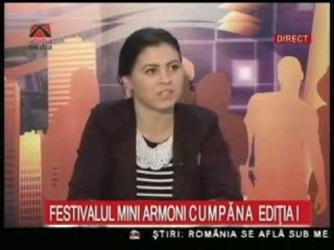 MINI ARMONI - Pasi spre educatie - Festivalul interetnic -interviu  Elis Menagi si Lolli Karaiola