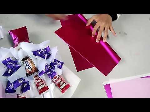 Simple Chocolate Bouquet Tutorial