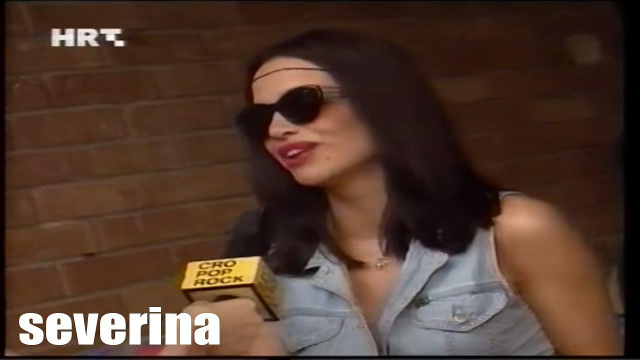 SEVERINA - (INTERVIEW LJETNA TURNEJA 1995.)