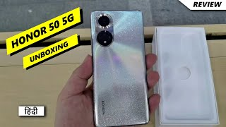 Honor 50 5g Unboxing in Hindi   Hands on