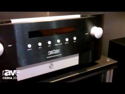 CEDIA 2014: Harman Breaks Down Mark Levinson 585 Integrated Amplifier