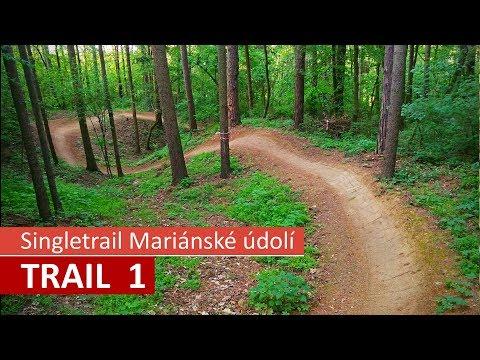 Traily v Mariánském údolí – červený Trail 1
