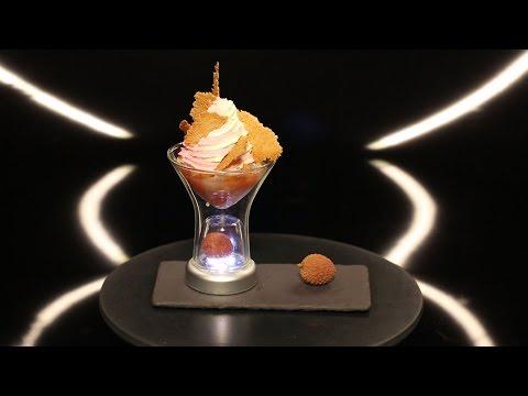 Le dessert litchi de Christophe Michalak (#DPDC)
