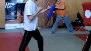 Обучение Защита от удари с нож - Ноември 2012