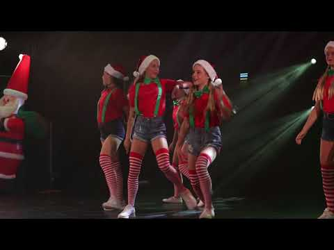 Christmas Hip Hop Dance  - Santas Little Helpers!