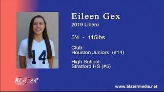 2019 Libero -  Eileen Gex - Volleyball Highlights Video