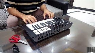 [UnBoxing] M-Audio Oxygen 25 MK IV MIDI Keyboard