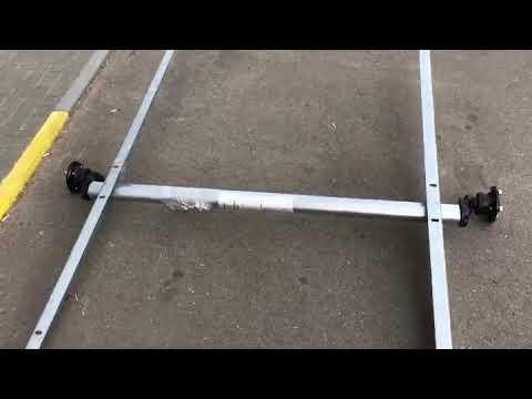 Резино-жгутовая подвеска прицепа МЗСА 817711