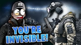YOU'RE INVISIBLE!! - Rainbow Six Siege Highlights #9