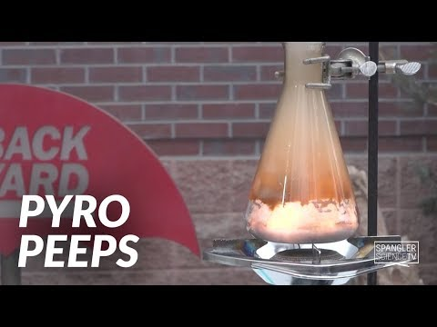 Pyro Peeps - Sugar Turns into Energy