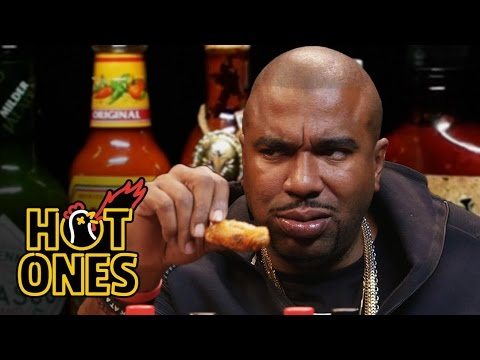 N.O.R.E. Gets Wasted While Eating Spicy Wings | Hot Ones
